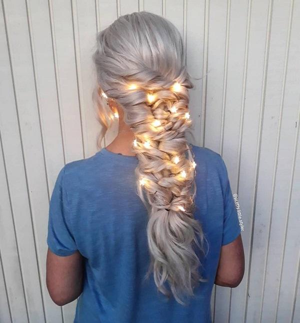 Bonito rizado Peinado de Halloween