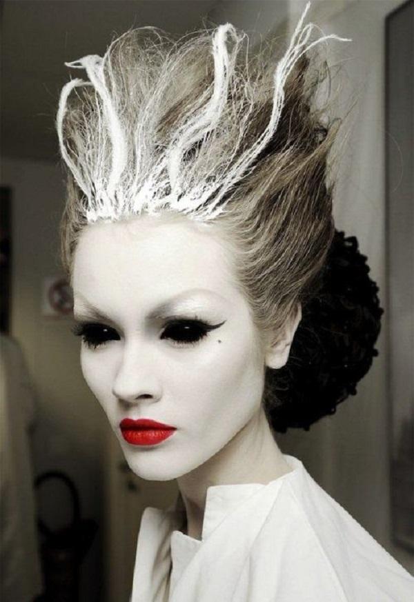 atroz peinado halloween