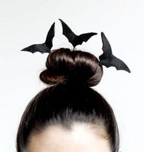 bate peinado halloween