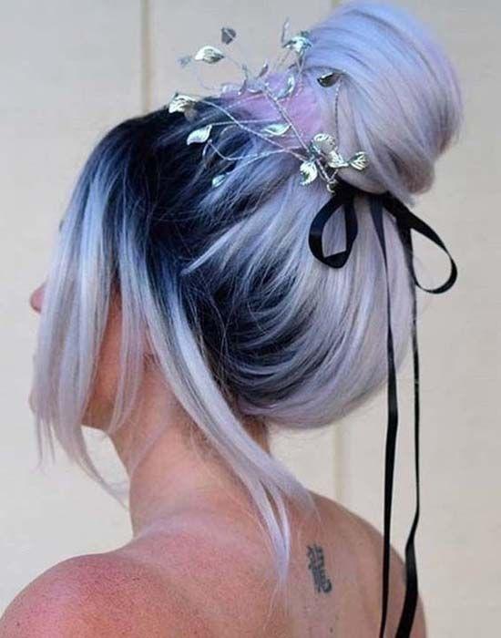 bonito peinados para halloween