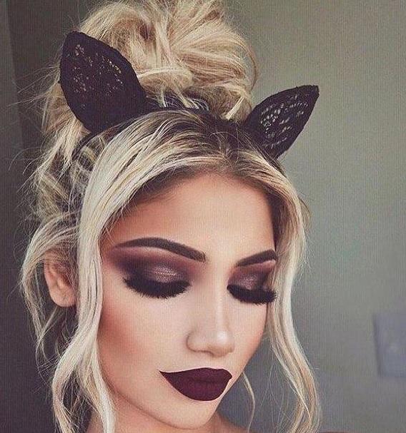 orejas de conejo para halloween