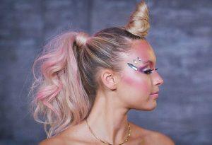 peinado-deunicornio para halloween