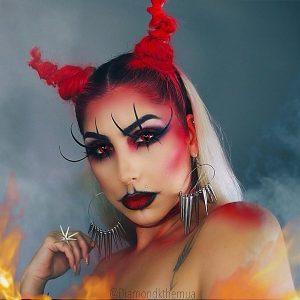 peinados de diabla para halloween