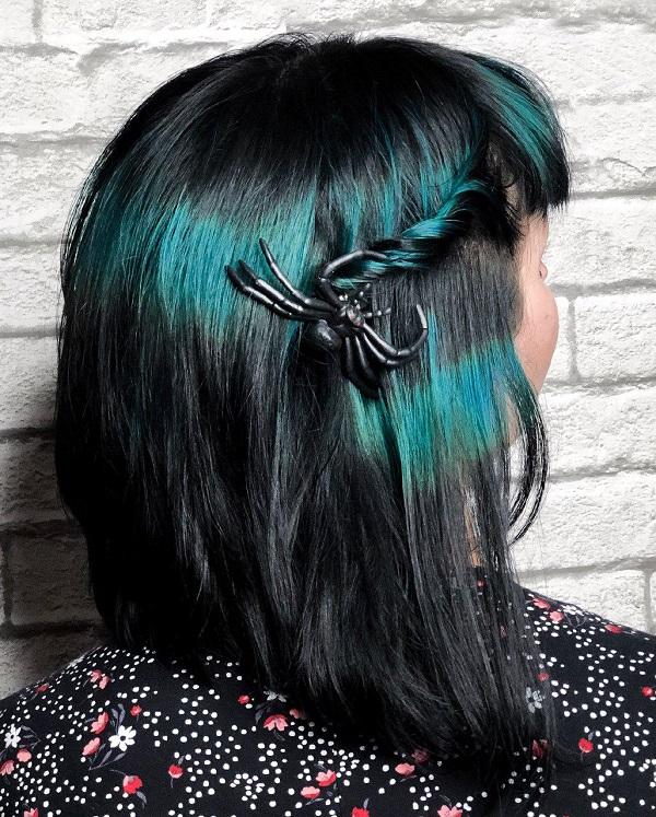 peinados fáciles para halloween
