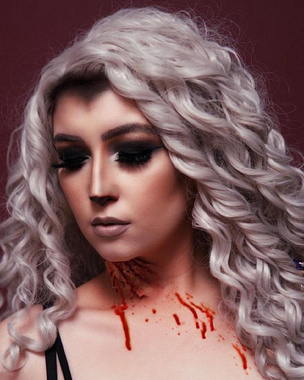 she wolf blood moon peinado-halloween
