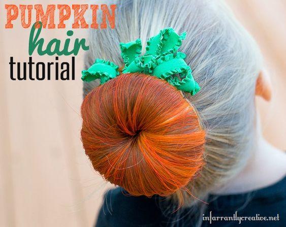 peinados-halloween-calabaza-ninas