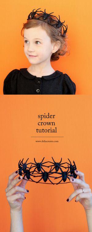 peinados-halloween-arañas-ninos