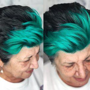 pelo-corto-negro-con-mechas-verde-mujeres-mayores