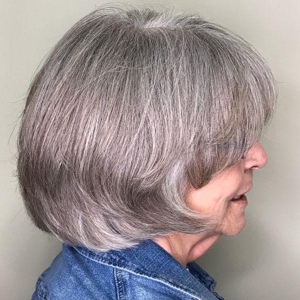 peinado mujeres de 60 anos