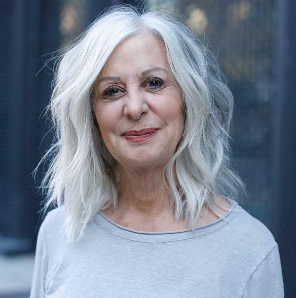 peinados mujeres mayores de 60 años