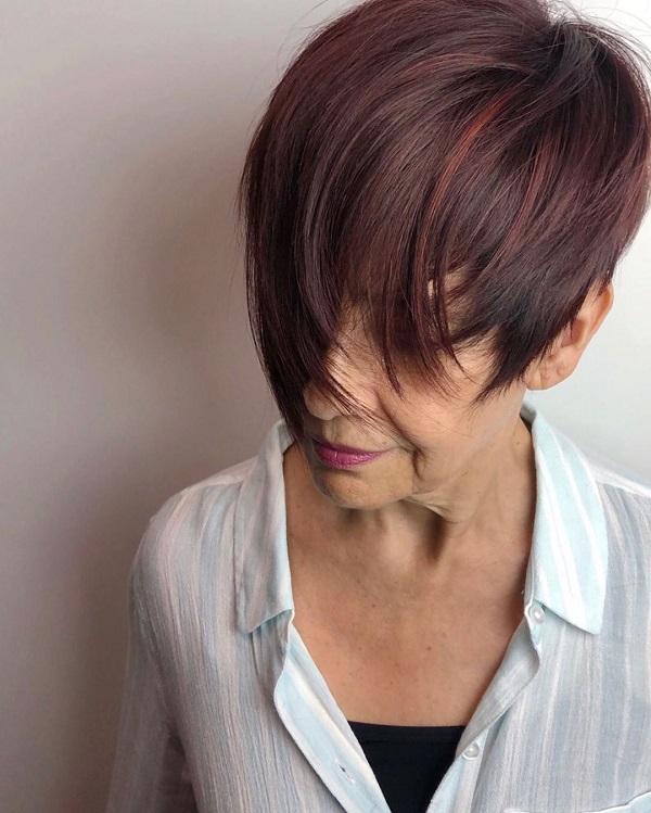 peinado mujeres mayores de 60 anos