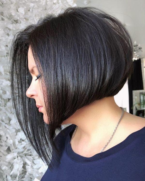 peinados bob asimetricos