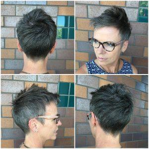peinado-pelo-corto-para-mujeres-mayores- con-gafas