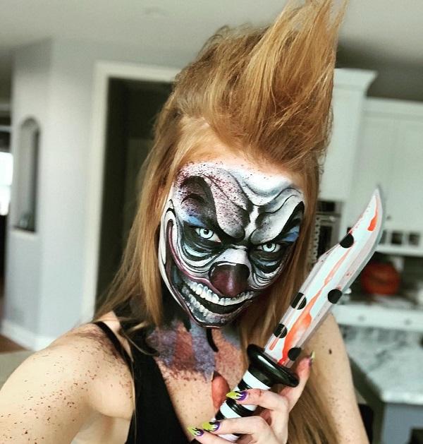 peinado mohawk para halloween