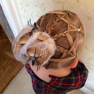peinados-halloween-nina-arana