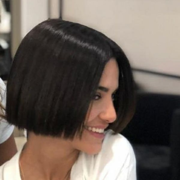 peinado bob corto