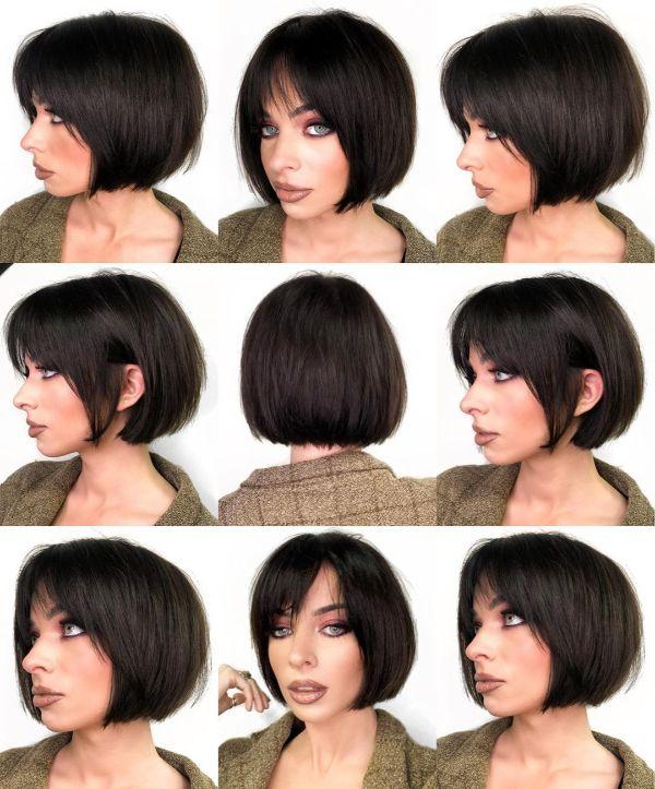 corte de pelo bob clásico