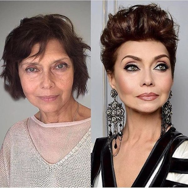 cabello corto para mujeres mayores de 50 años